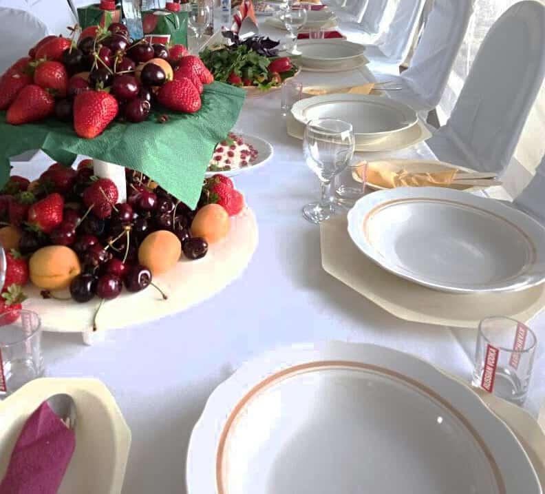 Купить одноразовую посуду на свадьбу